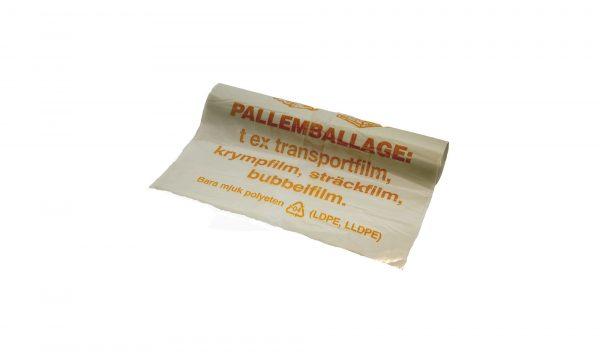 Plastsäck för pallemballage av Polynova Nissen