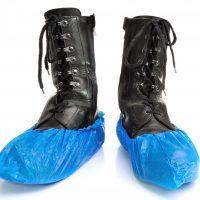 Blå skoskydd
